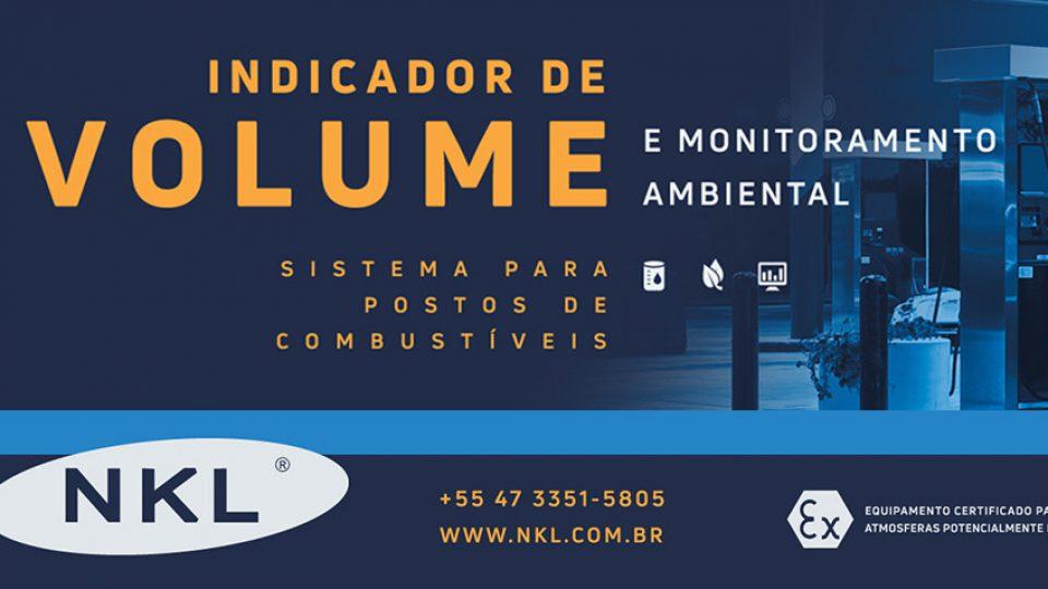 Indicador de volume e monitoramento ambiental para postos de combustíveis