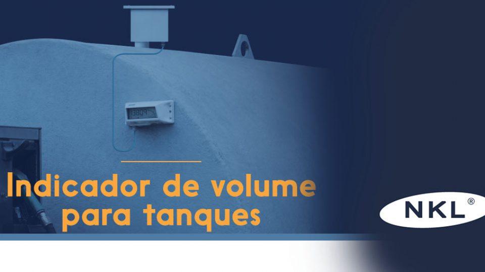 Indicador de Volume para tanques