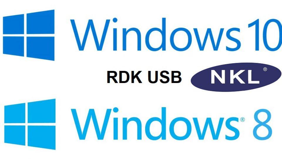 Instalando o software RDK no Windows 8 ou 10